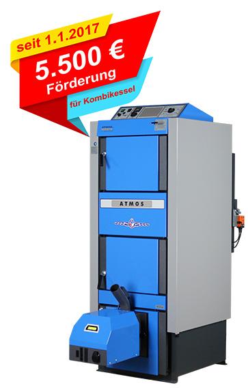 5.500 € BAFA Förderung für ATMOS Kombikessel Killus-Technik.de