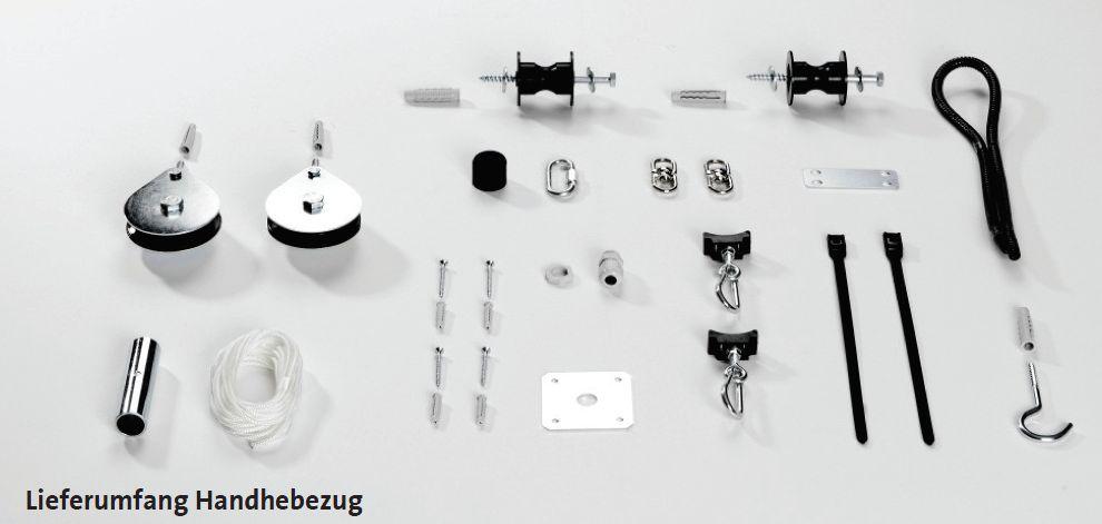 Lieferumfang Handhebezug Schellinger Sonnen-Maulwurf Killus-Technik.de