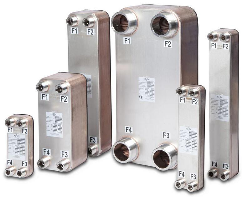 Killus-Technik - OEG Plattenwärmetauscher PWT Edelstahl. Lötung Kupfer